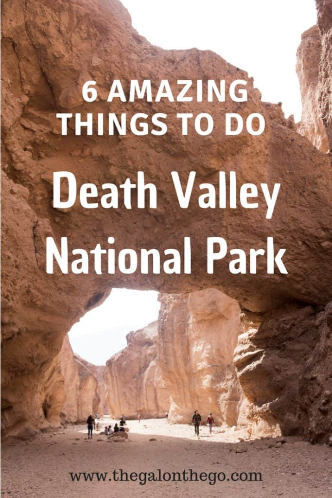 Things To Do Death Valley National Park