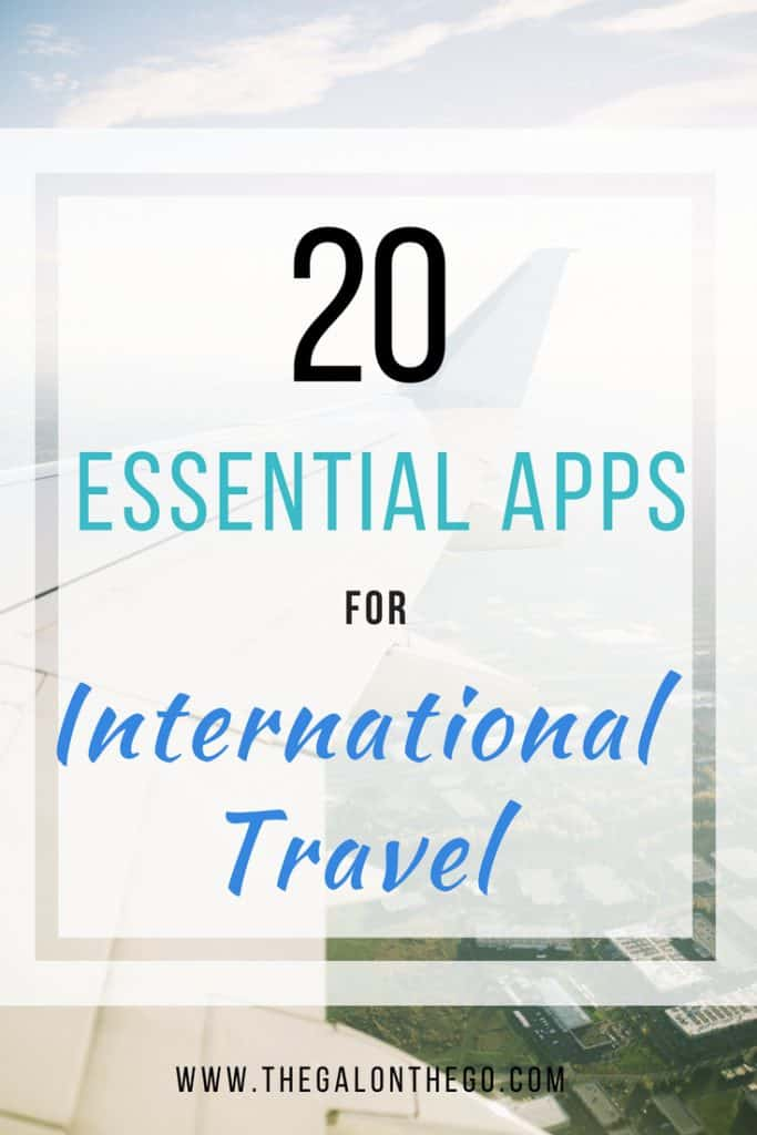 Essential Travel Apps