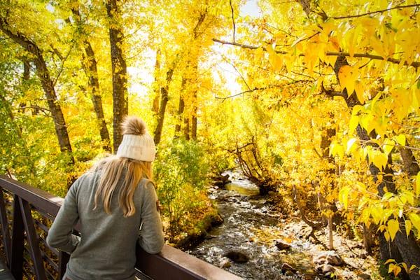 McGee Creek Fall Colors California