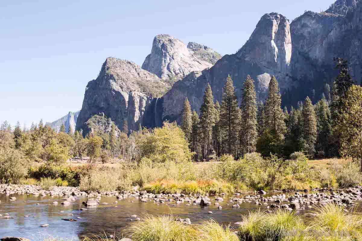 Yosemite Fall Colors California