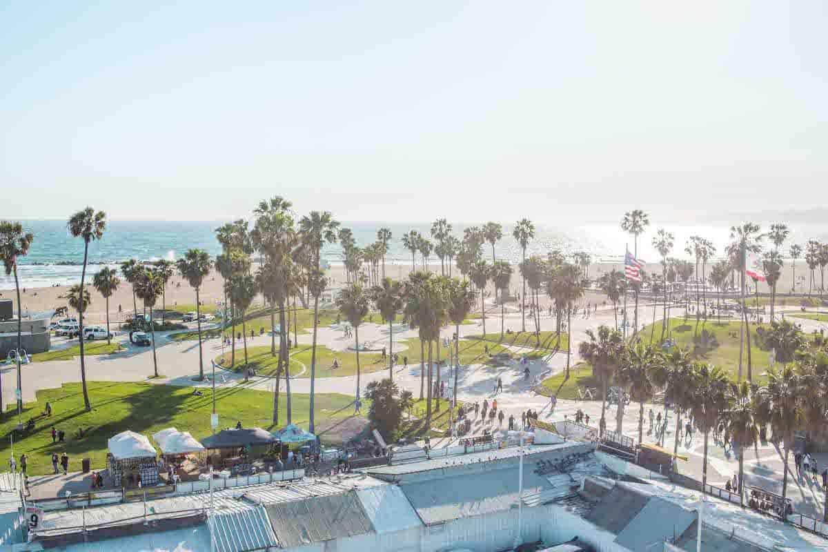 High Rooftop Lounge Venice Beach California