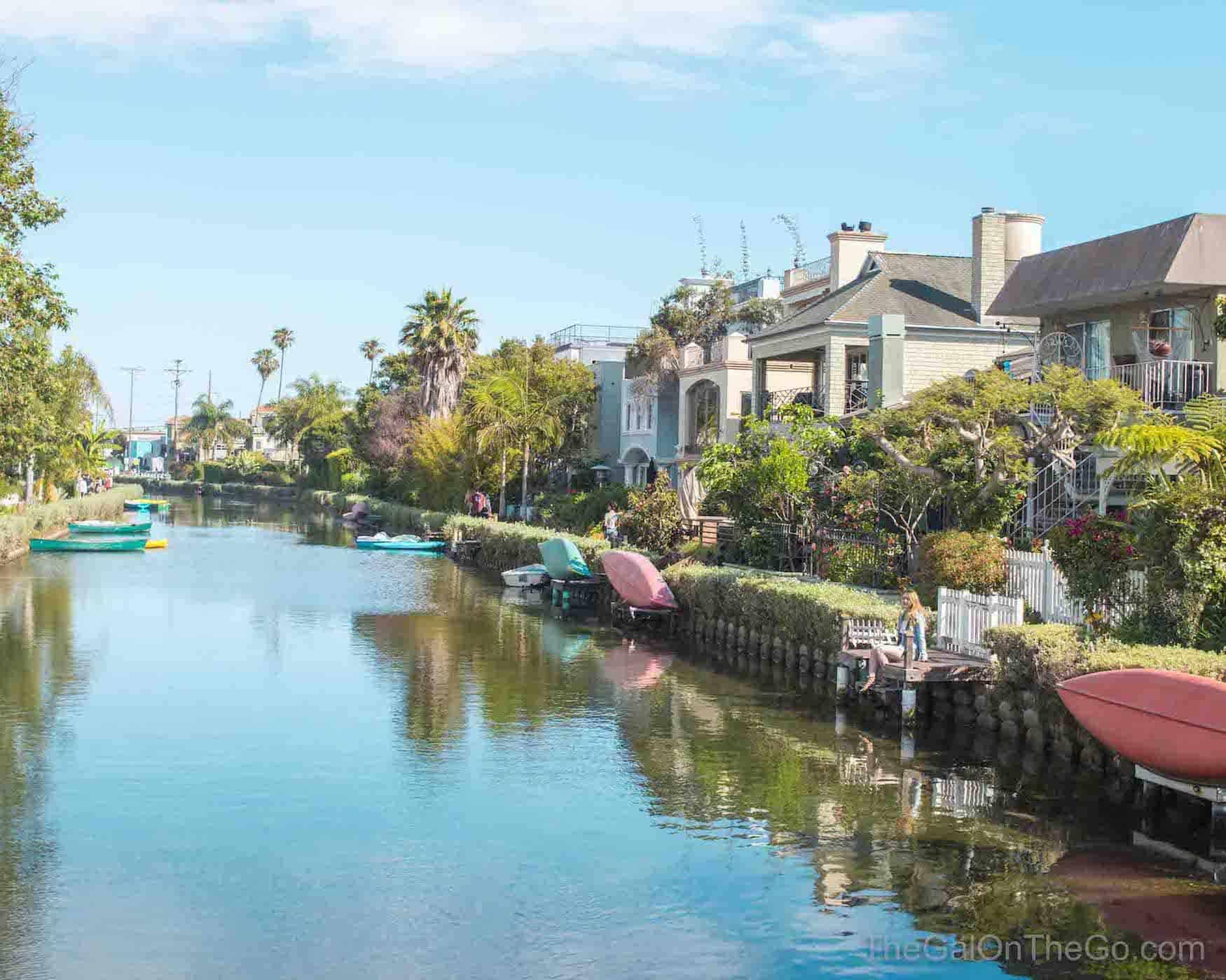 Venice Beach Canals CA houses