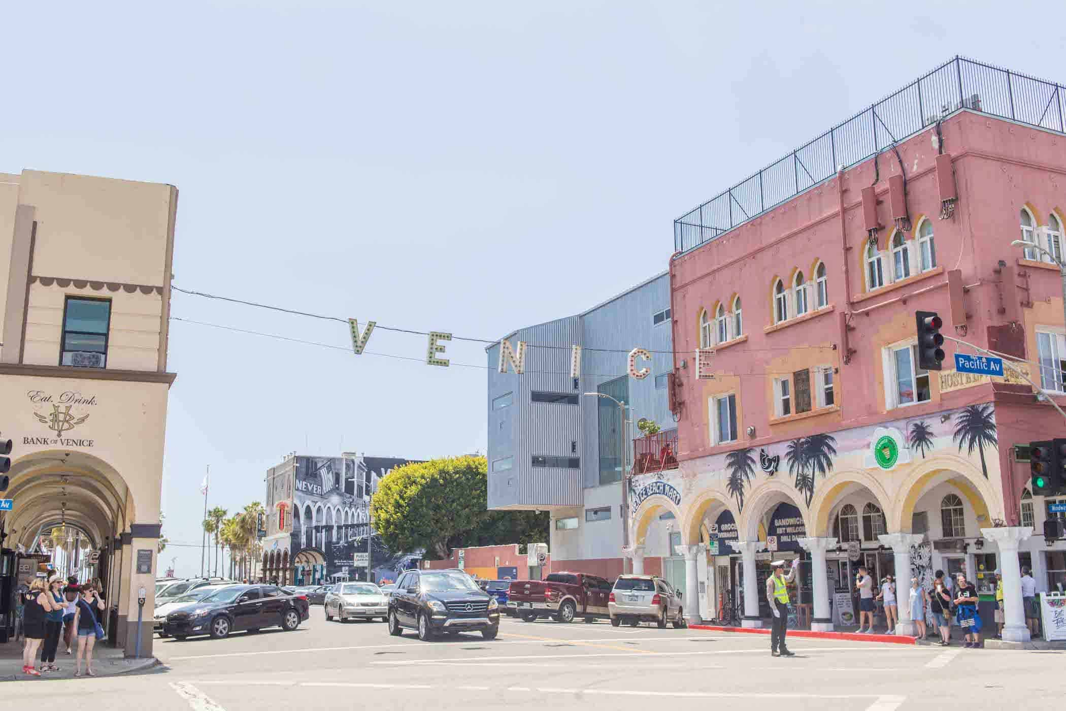 Venice Beach Sign California